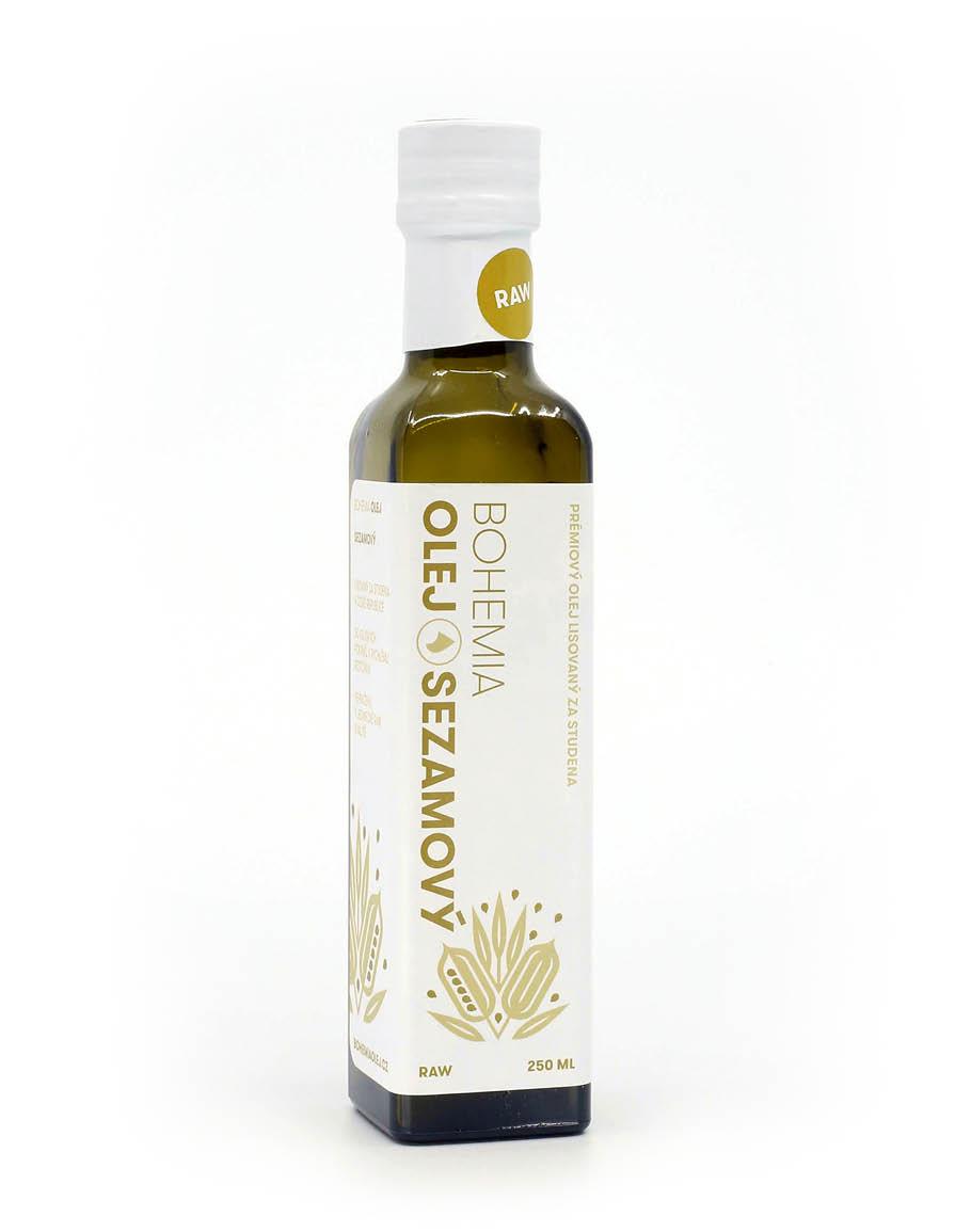 BOHEMIA OLEJ Sezamový olej LZS RAW 250ml