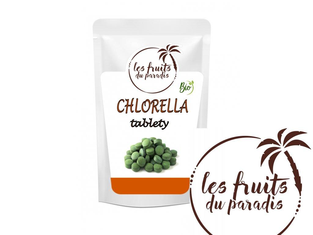Levně Les fruits de paradis Chlorella tablety 500mg BIO 125g