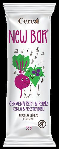 CereaBar Cerea New bar ČERVENÁ ŘEPA a RYBÍZ 33g