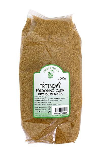 Zdraví z přírody Cukr třtinový Demerara 1kg