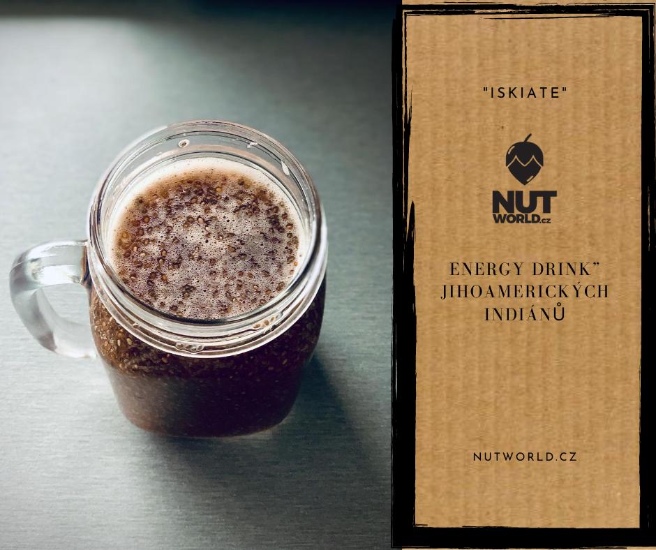 Chia semínka, energie jihoamarecických indiánů - nápoj