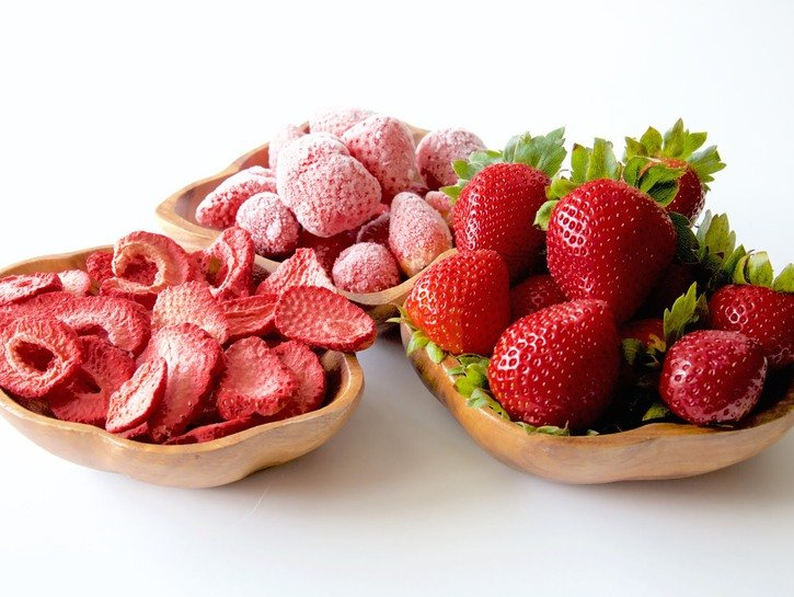 Lyofilizované a sušené ovoce - co to vlastně je?