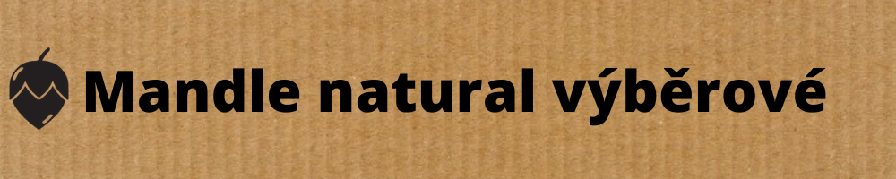 mandle natural výběrové