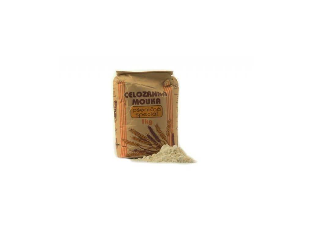 mouka celozrná pšeničná speciál
