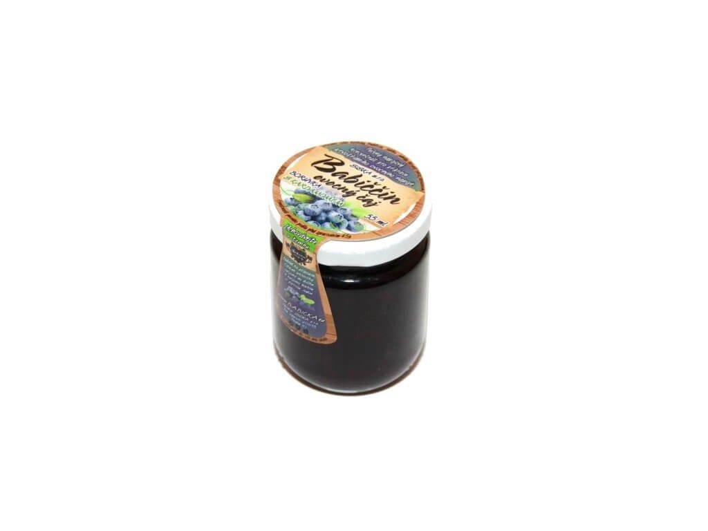 Babiččin ovocný čaj borůvka s kardamonem 60ml bílý