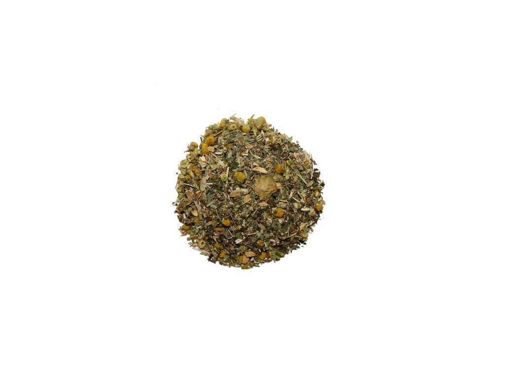 klidný spánek bylinný čaj