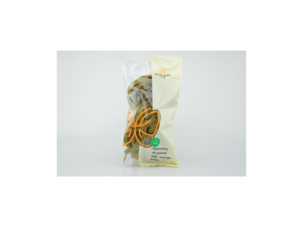 těstoviny ze zelené soji mungo