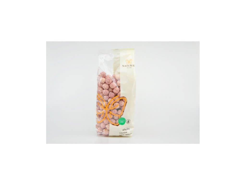 Křupky kukuřičné jogurt lesní ovoce Natural 140g