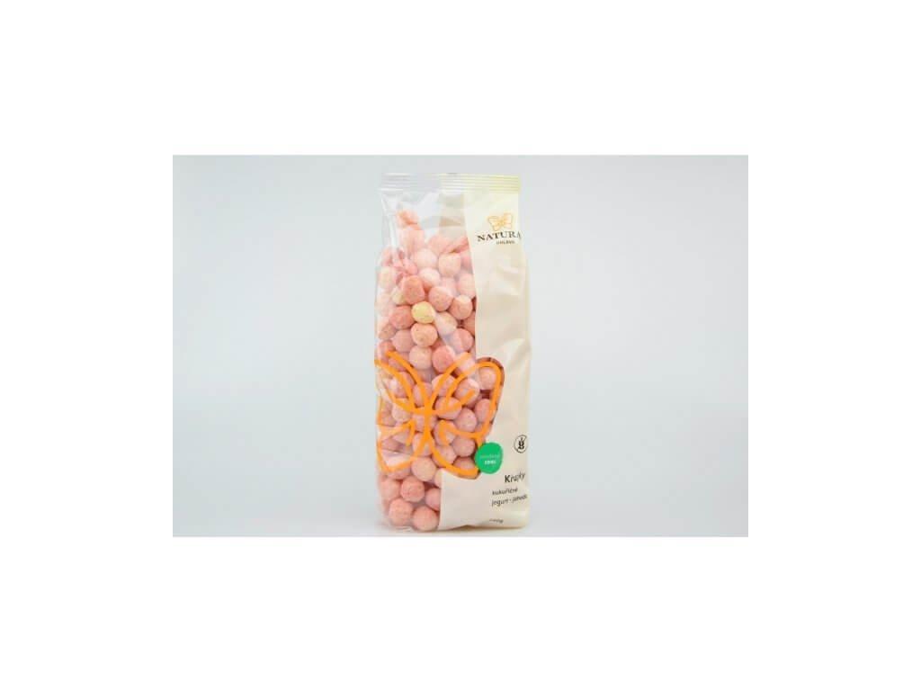 Křupky kukuřičné jogurt jahoda Natural 140g