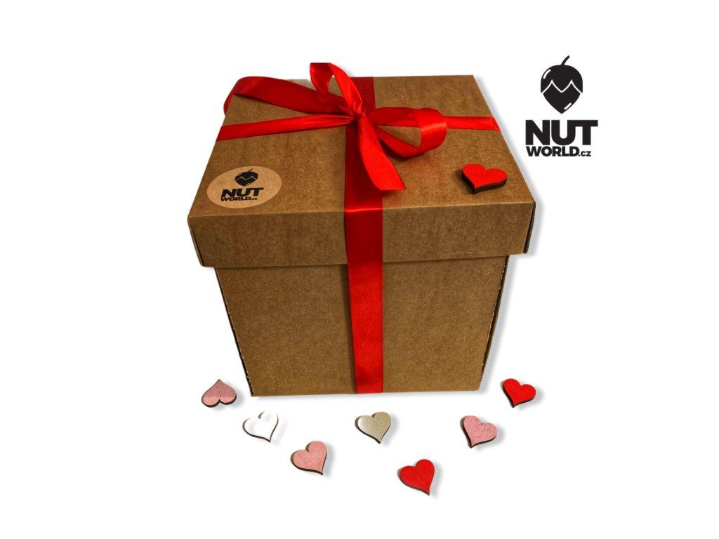 originální dárková krabice s překvapením nutworldcz valentýn
