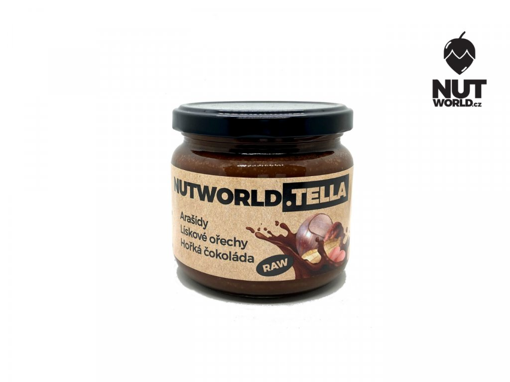 nutworld.tella raw 330