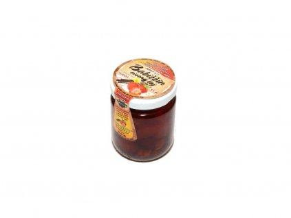 babiččin ovocný čaj vanilka jahoda bílý