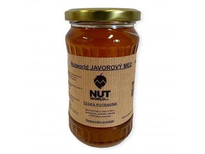 javorový med