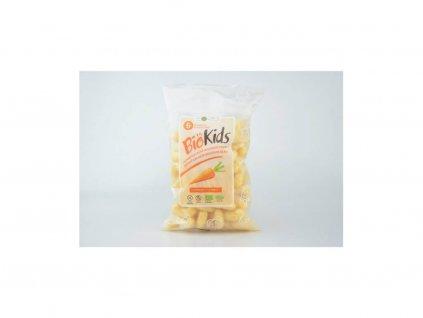 Dětské bezlepkové křupky s mrkví BIO Biokids 55g