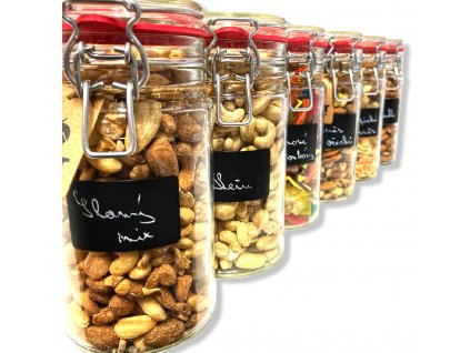 sklenice patentní ořechy mix všeho nutworldcz