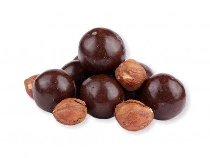 lískové ořechy v hořké čokoládě nutworldcz