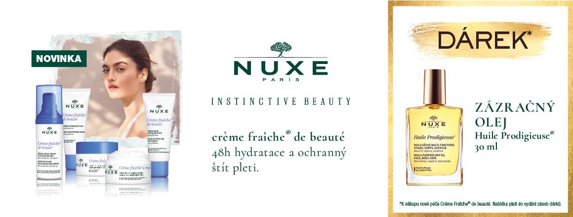 Nuxe Creme Fraiche s dárkem - Suchý olej 30ml