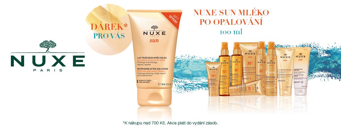Mléko Nuxe Sun při nákupu nad 700Kč