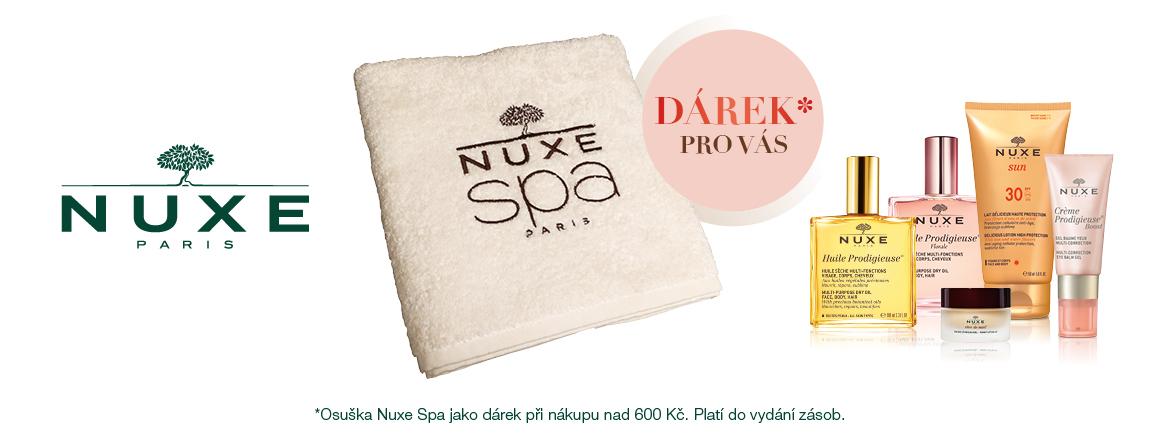 Osuška Nuxe Spa při nákupu nad 600Kč