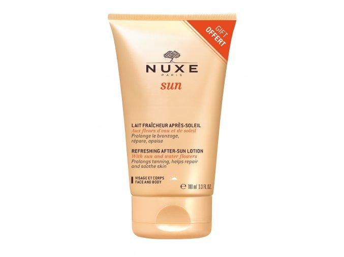 Dárek - Nuxe Sun Svěží mléko po opalování na obličej a tělo 100 ml