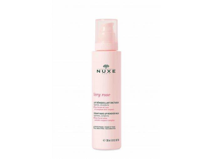Nuxe Very Rose krémové odličovací mléko 200ml