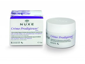 Nuxe Créme Prodigieuse - Hydratační péče pro unavenou pleť Regenerační noční péče 50 ml | www.Nuxe-kosmetika.cz