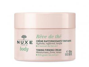 Nuxe Reve de Thé Zpevňující tonizační tělový krém 200ml Nuxe kosmetika.cz