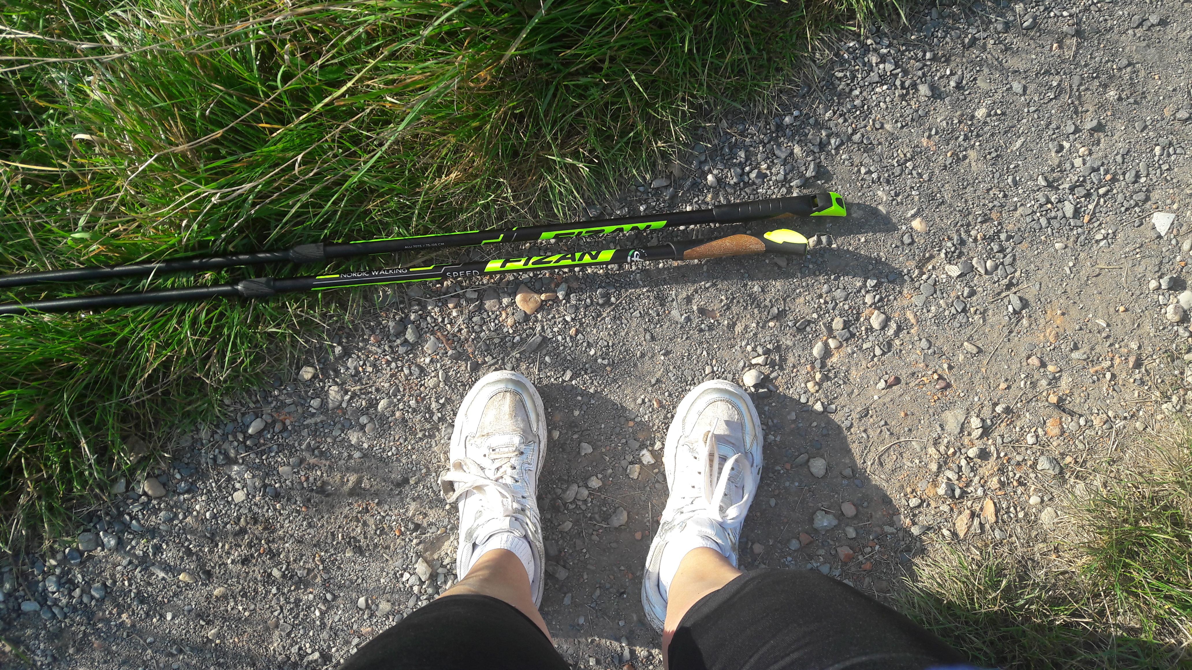 Mini Nordic Walking lekce pro začátečníky (2 hodiny)