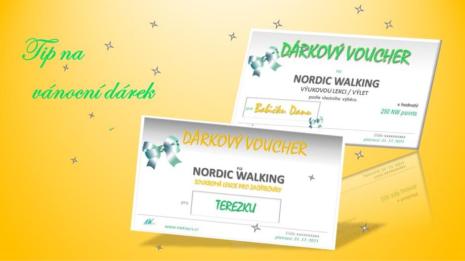 NORDIC WALKING - DÁREK, KTERÝ POTĚŠÍ