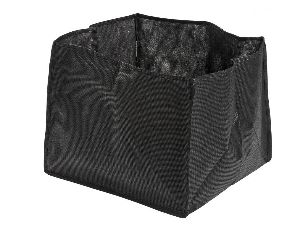 Plant basket textilie rectangular 25