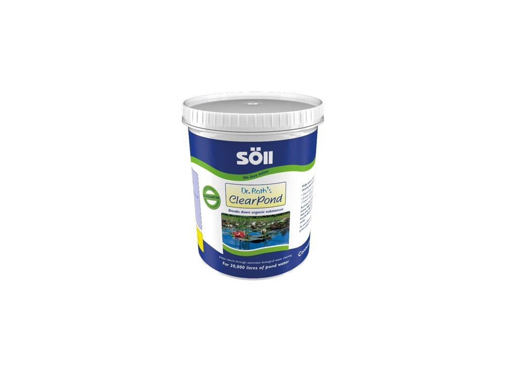 Soll Dr. Roths ClearPond 500 g