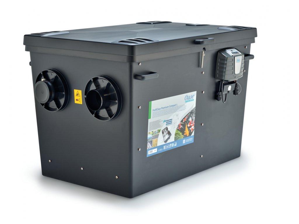 ProfiClear Premium Compact-L pumped EGC - samočistící bubnová filtrace