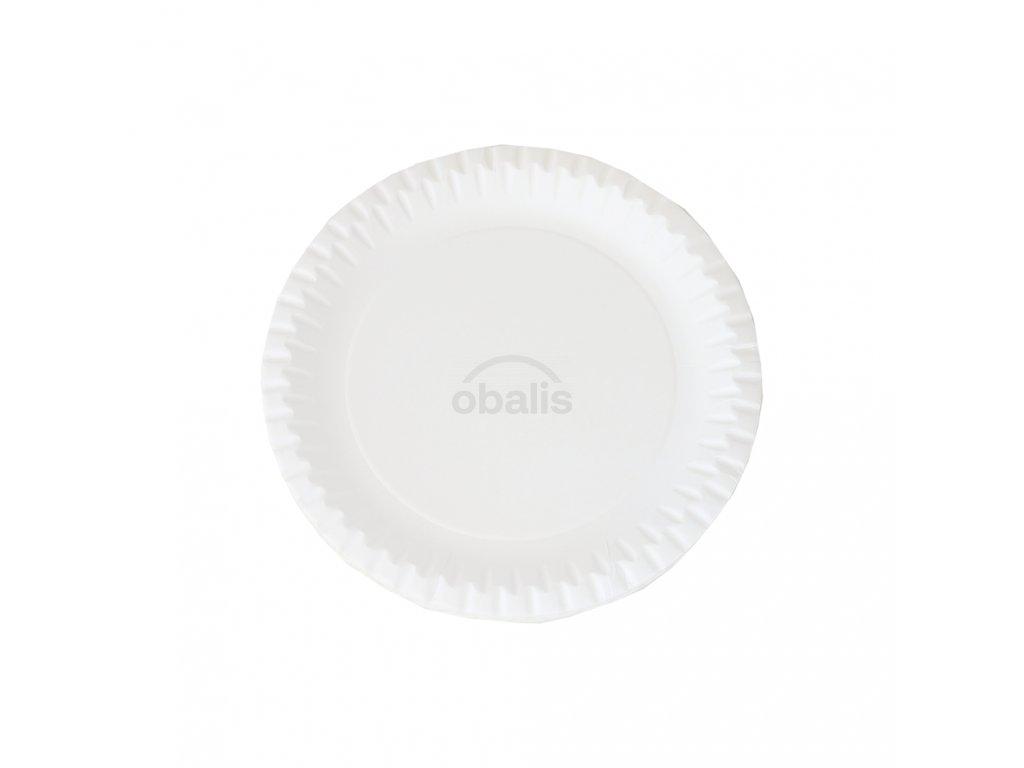Papírové talíře ⌀170 mm (20ks)
