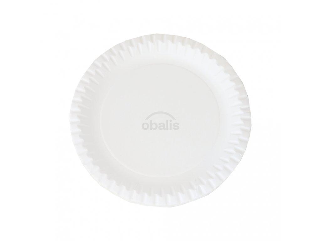 Papírové talíře ⌀225 mm (20ks)