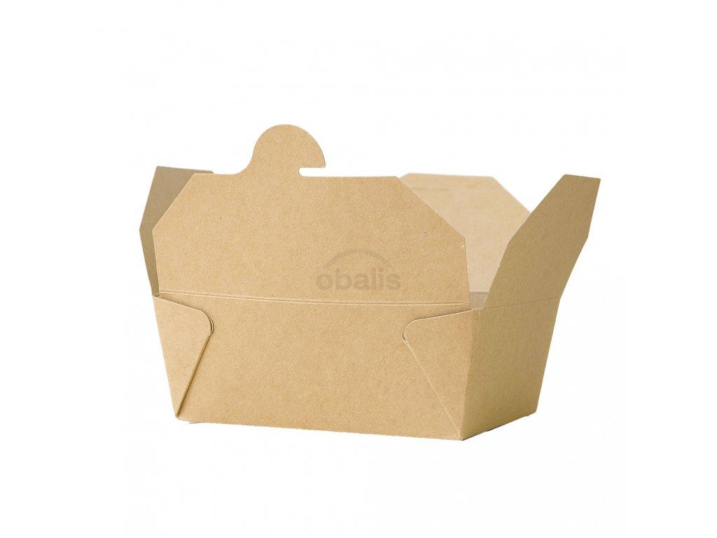 Menu box kraft 1300 ml 151x120x65 mm