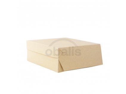 Dortova krabice kraft 25x25x10 obalis