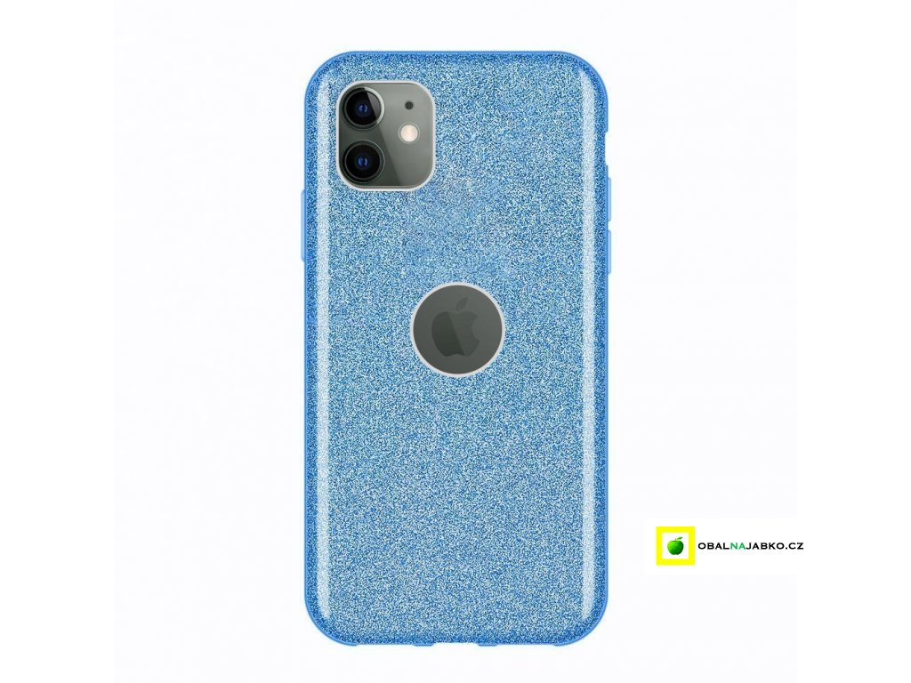 eng pl Wozinsky Glitter Case Shining Cover for iPhone 11 blue 55242 1