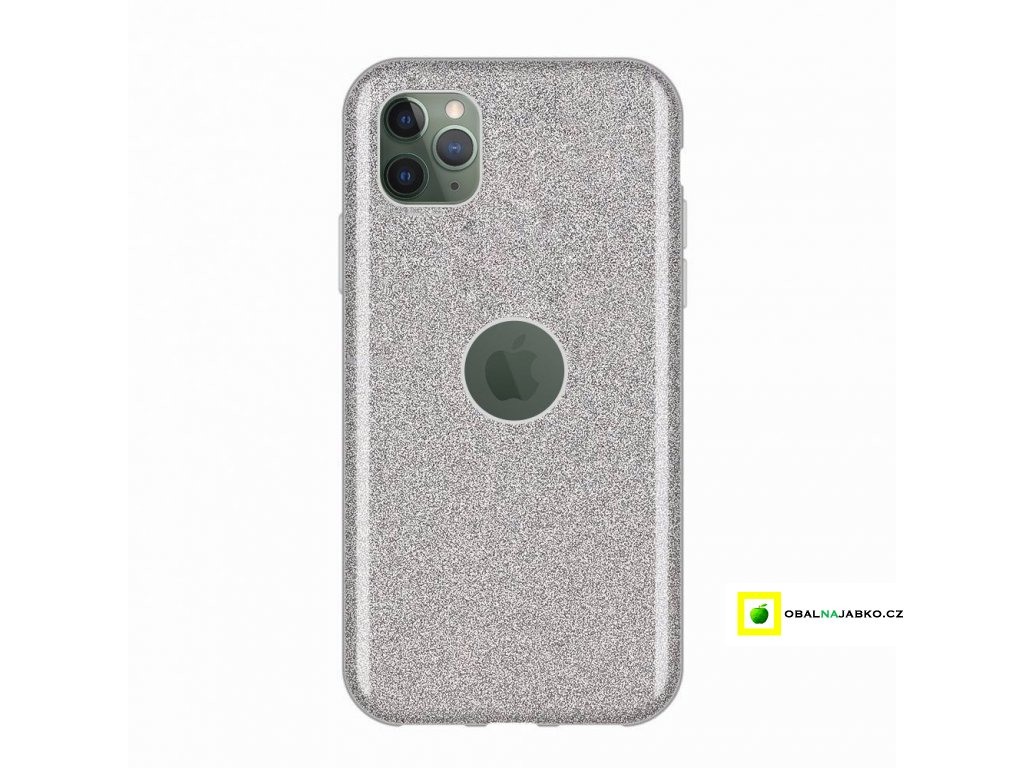 eng pl Wozinsky Glitter Case Shining Cover for iPhone 11 Pro silver 55250 1