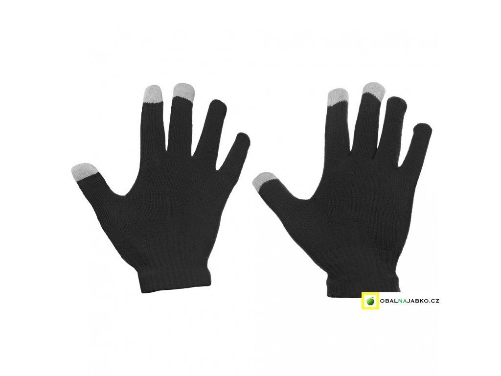 eng pl Universal Touchscreen Winter Gloves Striped Gloves black 27068 2