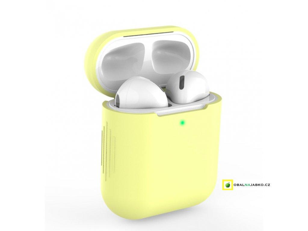 obal žlutý na airpods