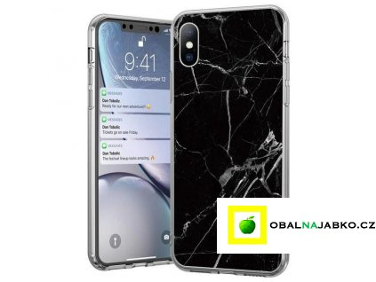 eng pl Wozinsky Marble TPU case cover for iPhone 11 Pro Max black 55216 1