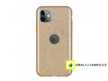 eng pl Wozinsky Glitter Case Shining Cover for iPhone 11 golden 55241 1