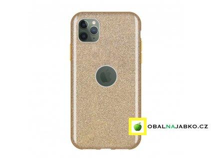 eng pl Wozinsky Glitter Case Shining Cover for iPhone 11 Pro golden 55247 1