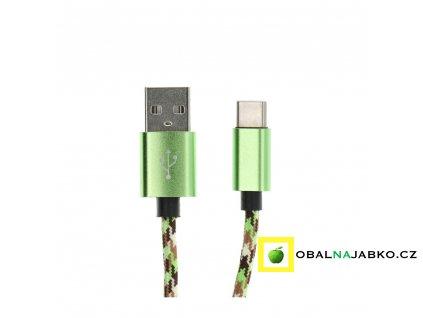 zelený nylon
