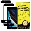 Set 2 ks 3D tvrzených černých skel 9H na iPhone 6/6S/7/8/SE 2020