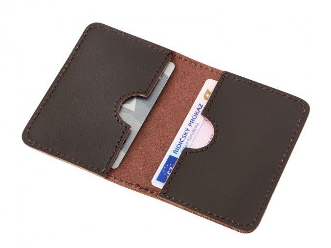 Kozene pouzdro na karty a doklady D52 2