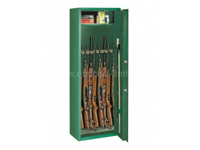 Skříň na osm zbraní SELECT 8, S1, min 15RU + DOPRAVA ZDARMA  + dárek pokladnička TRAUN 3 zdarma