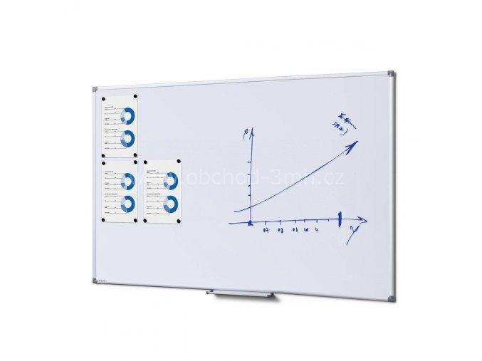 Popisovatelná magnetická tabule - Whiteboard SCRITTO 100x150 cm