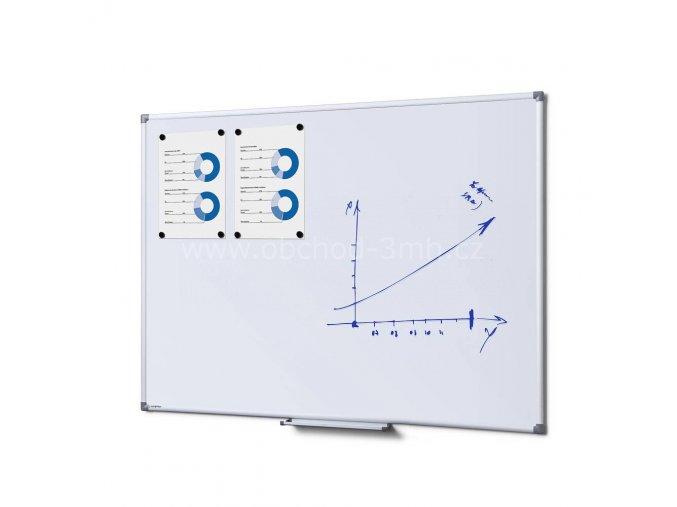 Popisovatelná magnetická tabule - Whiteboard SCRITTO 90x120 cm Enamel
