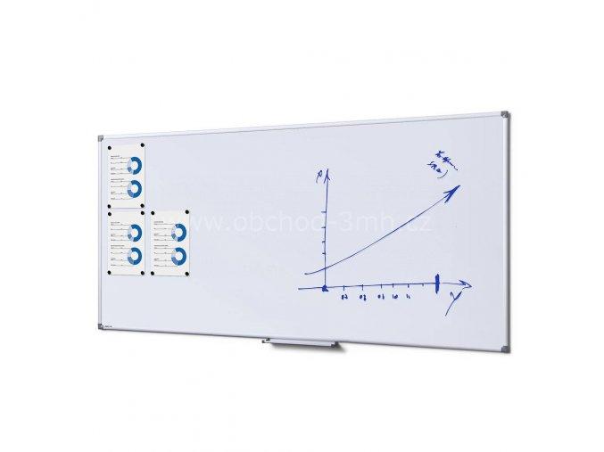 Popisovatelná magnetická tabule - Whiteboard SCRITTO 100x200 cm Enamel